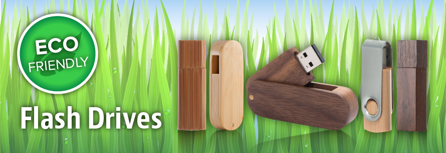 Eco-Friendly Flash Drives