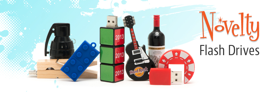 Novelty Flash Drives